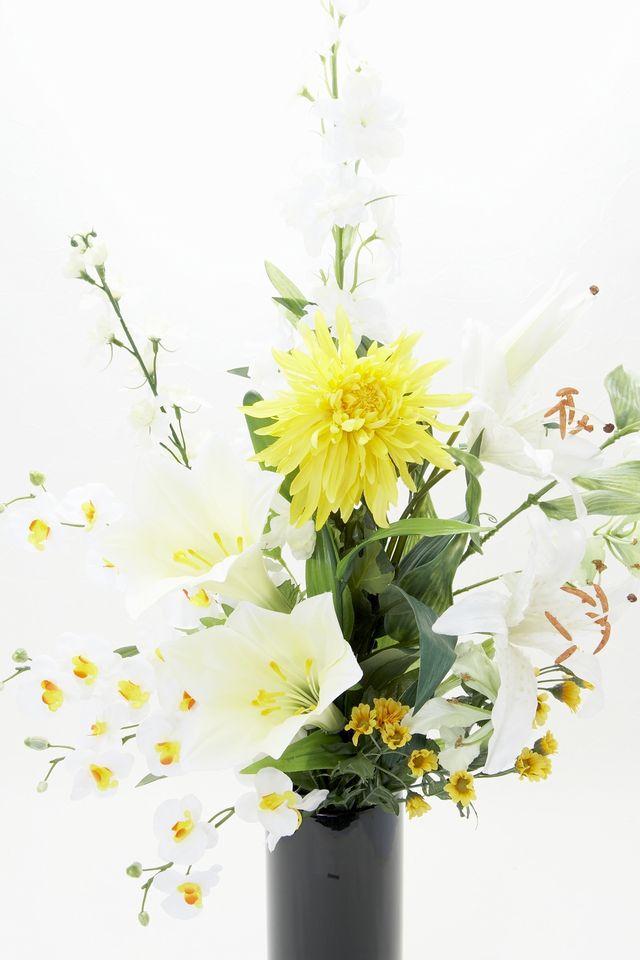 【造花 洋花仏花】デザインメモリアル供花B-1束