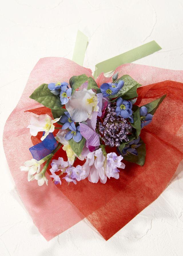 【造花ミニ花束】手のひらブーケ29
