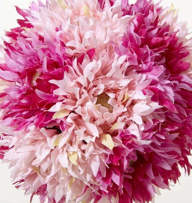 【フラワーボール・造花インテリア】ガーベラボール・ピンク