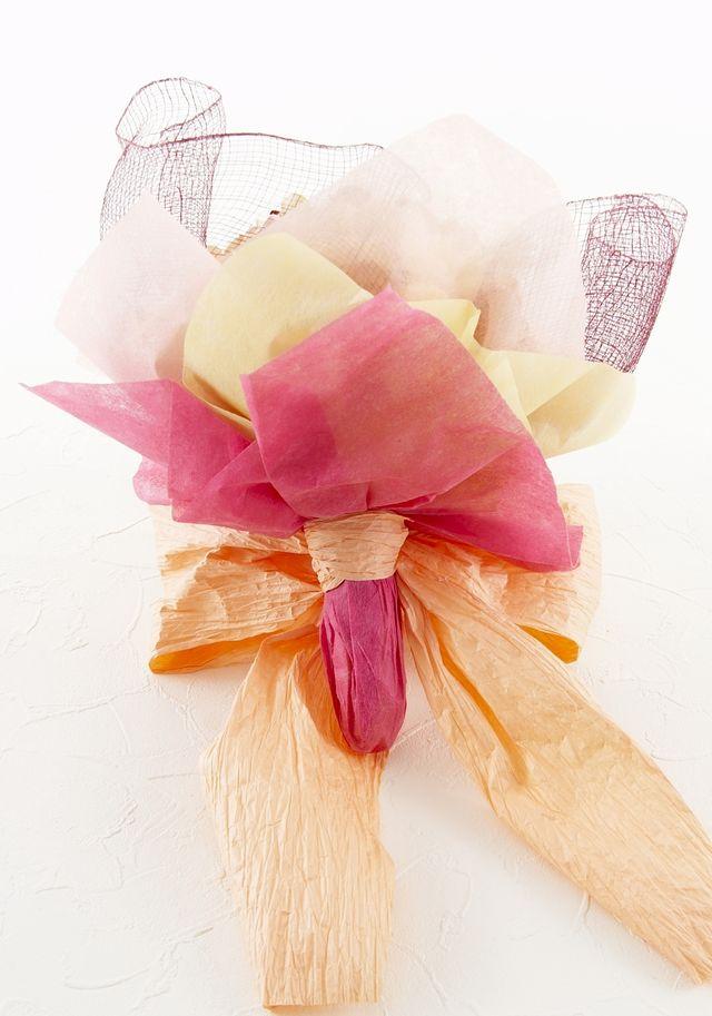 【造花デザイン アレンジブーケ】カンテラオパール