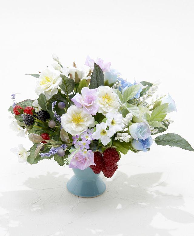 【造花アレンジメント】ベリーロゼッタ
