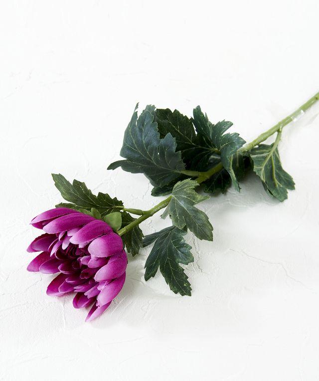 【造花・アートフラワー・シルクフラワー】菊(パープル)