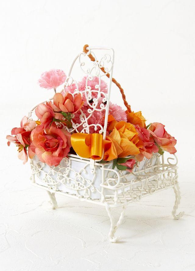 【ピアノ・プードルアレンジメント】ハーモニー・オレンジ